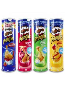Pringles Kartoffelchips Stash - Acht verschiedene Designs gemischt