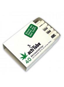 Tune 40 - Packung mit 40 Aktivkohlefiltern von actiTube.