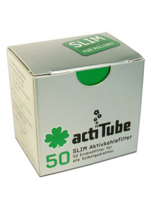 Tune Slim 50 - Packung mit 50 Aktivkohlefiltern