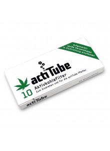 actiTube Filter - Packung mit 10 Aktivkohlefilter