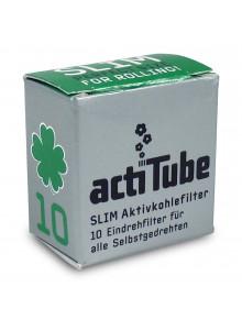 Tune Slim ⌀69mm - 10 Aktivkohlefilter von actiTube