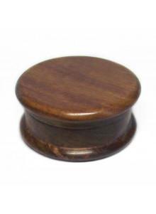 Holz Grinder aus Sheeshamholz - 60mm Durchmesser