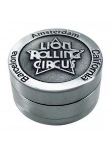 Lion Rolling Circus Grinder - 50mm - Dreiteilig - Geprägtes Logo
