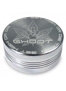 GHODT Space Grinder ⌀63mm - Aluminium - Gelasertes Logo