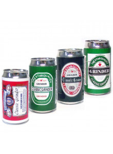 Beer Can Style Grinder 32mm Durchmesser - 4 Designs
