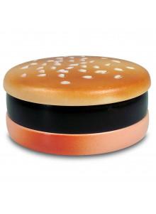 Hamburger Style Grinder mit Sesam