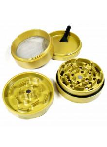GHODT Ceramic Coated Grinder 63mm Gold - Einzelteile