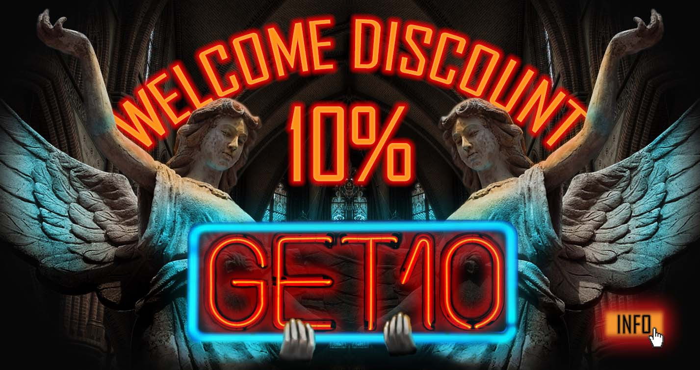 10% welcome discount on your first order at GHODT Headshop