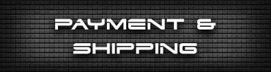 Payment and Shipping at GHODT Headshop